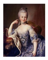 Portrait of Marie Antoinette Framed Print