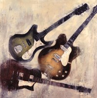 Guitars I Fine Art Print