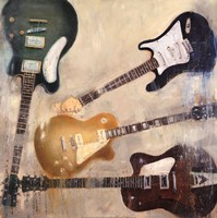 Guitars II Fine Art Print