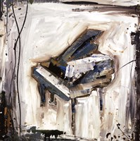 Imprint Piano Fine Art Print