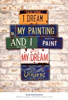 Vincent, Dream Fine Art Print