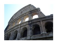 Low Angle View of the Colosseum Fine Art Print