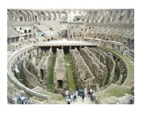 Colosseum Interior Framed Print