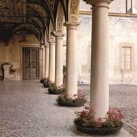Villa Portico No. 1 Fine Art Print