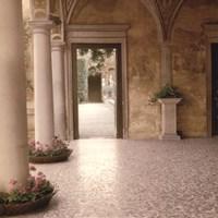 Villa Portico No. 2 Fine Art Print