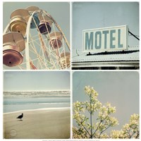Summer Memories 1, Motel Fine Art Print