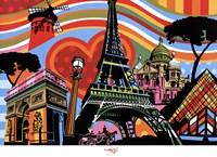 Paris l'amour Fine Art Print