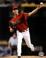Randy Johnson 2008 Action Fine Art Print