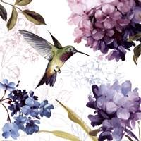 Spring Nectar Square II Fine Art Print