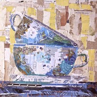 For Tea on Neutral Fine Art Print