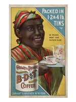 Carhart & Brother Celebrated B-D & T Roasted Coffee Fine Art Print