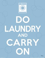 Laundry On I Fine Art Print