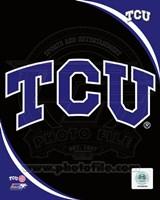 Texas Christian University Horned Frogs Team Logo Fine Art Print