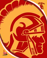 University of Southern California Trojans Team Logo Fine Art Print