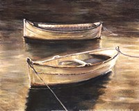 Sienna Boats Fine Art Print