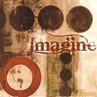 Imagine (Red) Fine Art Print