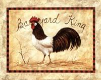 Barnyard King Fine Art Print