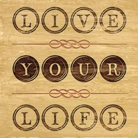 Live Your Life Fine Art Print