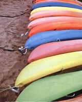 Kayaks I Framed Print