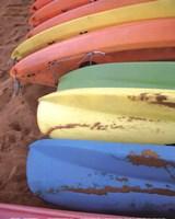 Kayaks II Framed Print