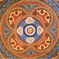Baroque Tiles I Fine Art Print