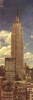 Empire State Building, Circa 1950 Fine Art Print
