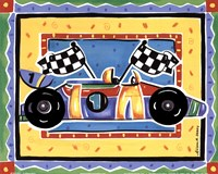 Race Car Framed Print