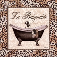 Leopard Bathtub Fine Art Print