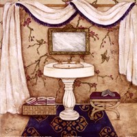 Purple Passion Sink I Fine Art Print