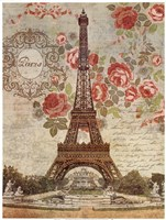 Dreaming Of Paris Framed Print