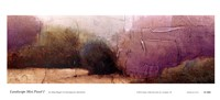 Landscape Mist Panel I Fine Art Print