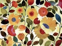 Sienna Garden - ovsz Fine Art Print