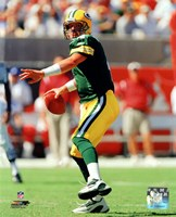 Brett Favre - 2003 Action Fine Art Print