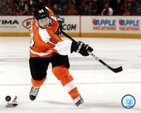 Danny Briere 2011-12 Action Fine Art Print