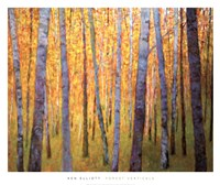 Forest Verticals Fine Art Print