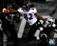 Torrey Smith Touchdown AFC Championship Game Spotlight Action Fine Art Print