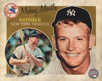 Mickey Mantle 2012 Studio Plus Framed Print