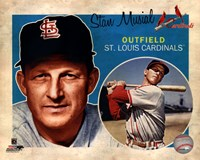 Stan Musial 2012 Studio Plus Fine Art Print