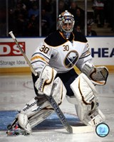 Ryan Miller 2011-12 Action Fine Art Print