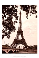 Eiffel Views I Fine Art Print