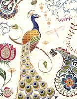 Peacock Fantasy II Fine Art Print