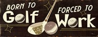Funny Golf III Fine Art Print