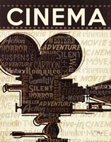 Cinema I Fine Art Print