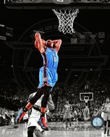 Russell Westbrook 2011-12 Spotlight Action Fine Art Print