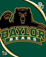 Baylor University Bears 2012 Logo Fine Art Print