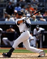Derek Jeter 2012 batting Fine Art Print