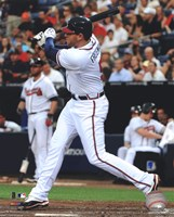 Freddie Freeman 2012 Action Fine Art Print