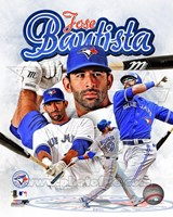 Jose Bautista 2012 Portrait Plus Fine Art Print