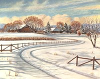 Winter Scene I Fine Art Print
