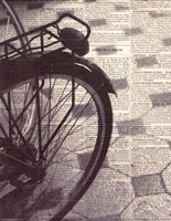 La Bicyclette III Fine Art Print